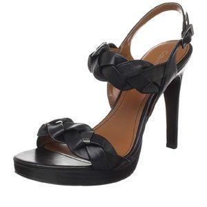 Calvin Klein Open Toe Heels 8.5